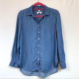 Loft Chambray Softened Shirt